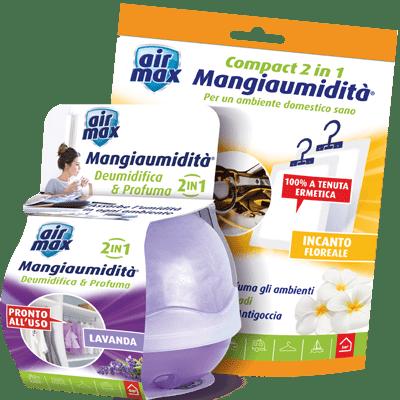 Air Max Assorbiumidità deodoranti per piccoli spazi