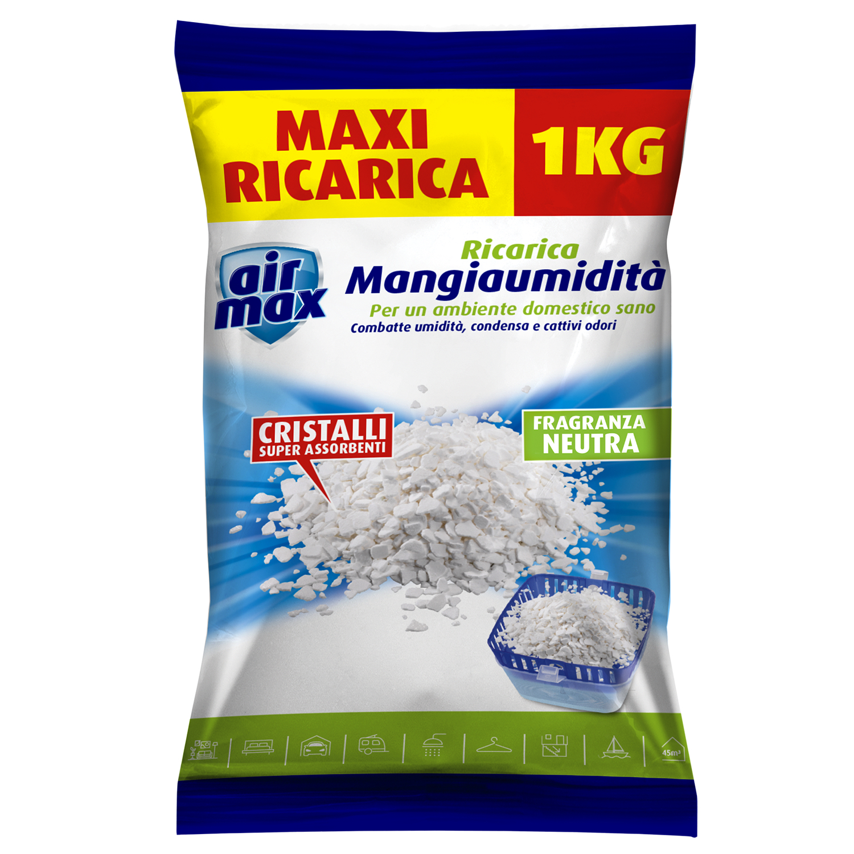 E RICARICA SODIO SCARICA