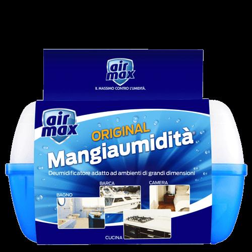 Air Max Dispositivo Mangiaumidità 900g + 2 ricarica sali 450g