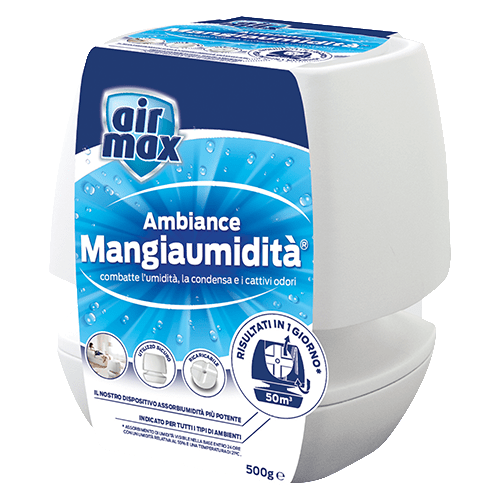 Air Max Dispositivo Mangiaumidità Ambiance Bianco 500g
