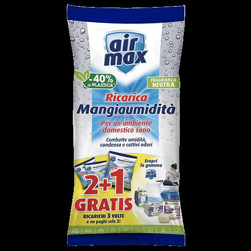 Air Max Mangiaumidità 2 ricariche Neutra + 1 gratis 1350g